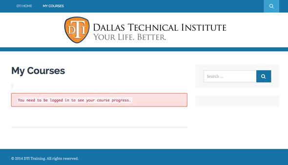 Dallas Technical Institute Education Portal